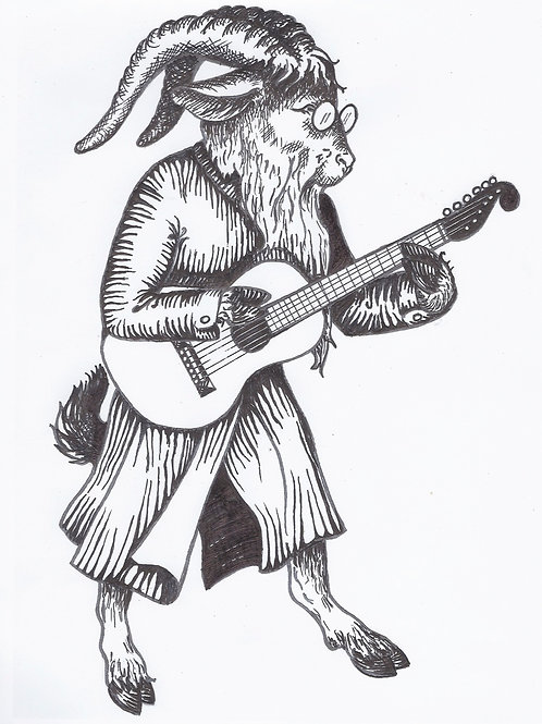 GUITAR GOAT - PREVIOUS YEAR'S Ts