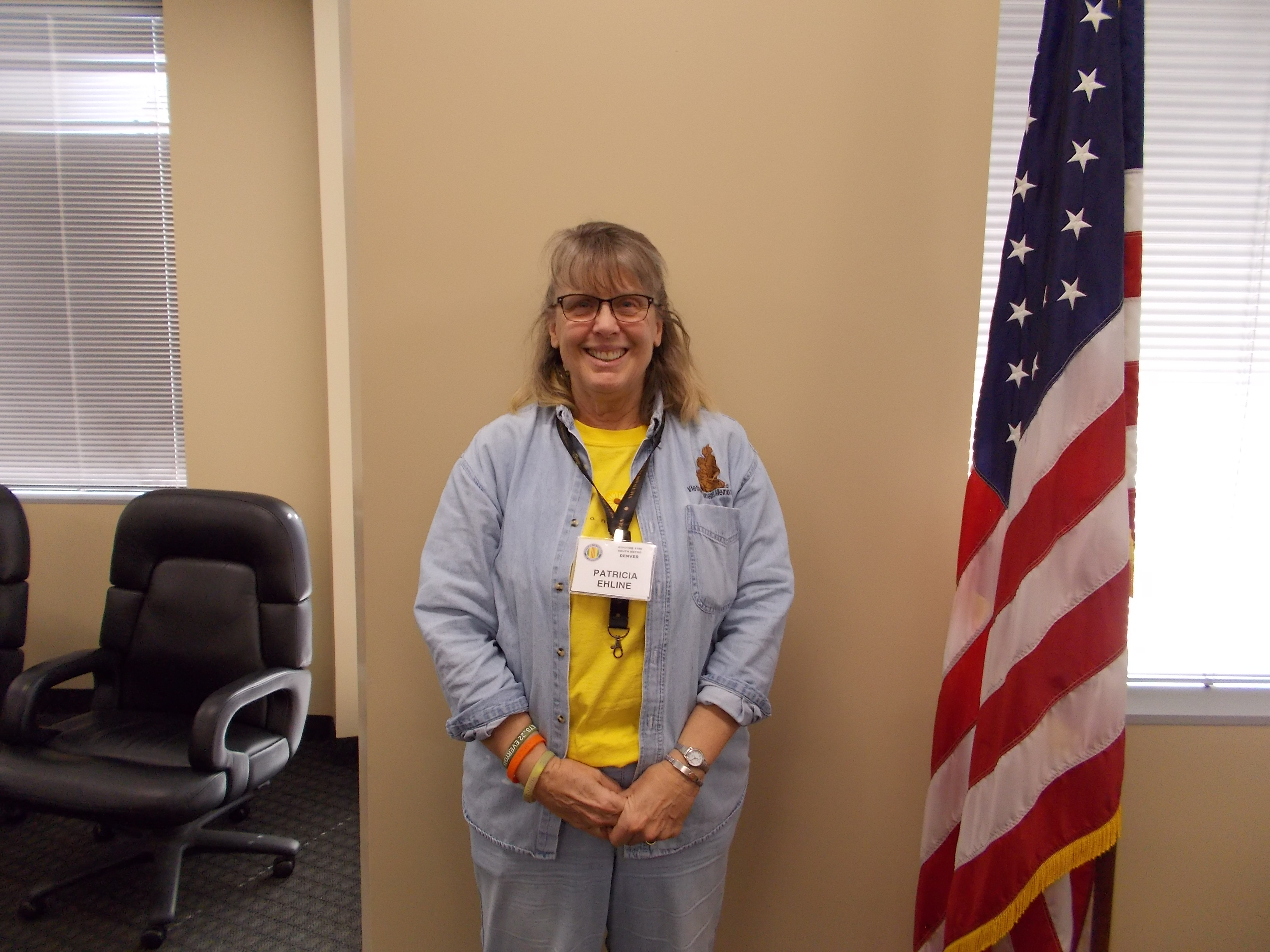 Patti Ehline - Chapter Nurse