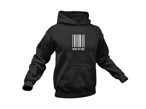 """Exclusive """"MADE BY GOD"""" pullover hoodie"""