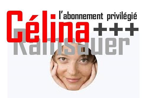 CELINA - abonnement annuel