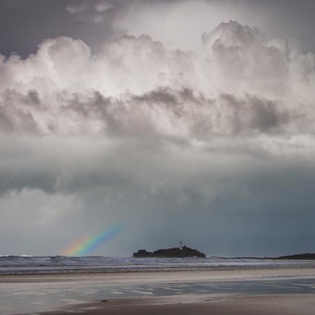 Rainbow at Sea