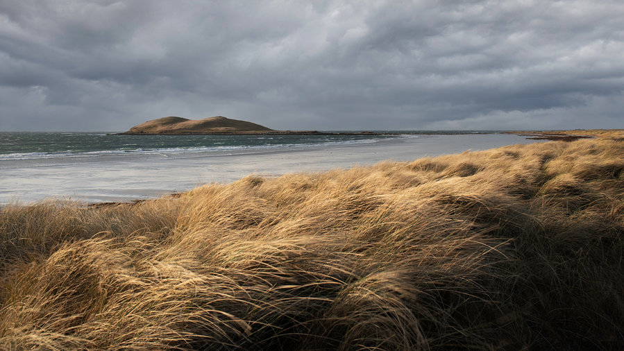 Island Storm Passing, Isle of Uist