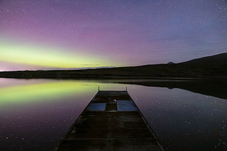 Lochside Under The Aurora