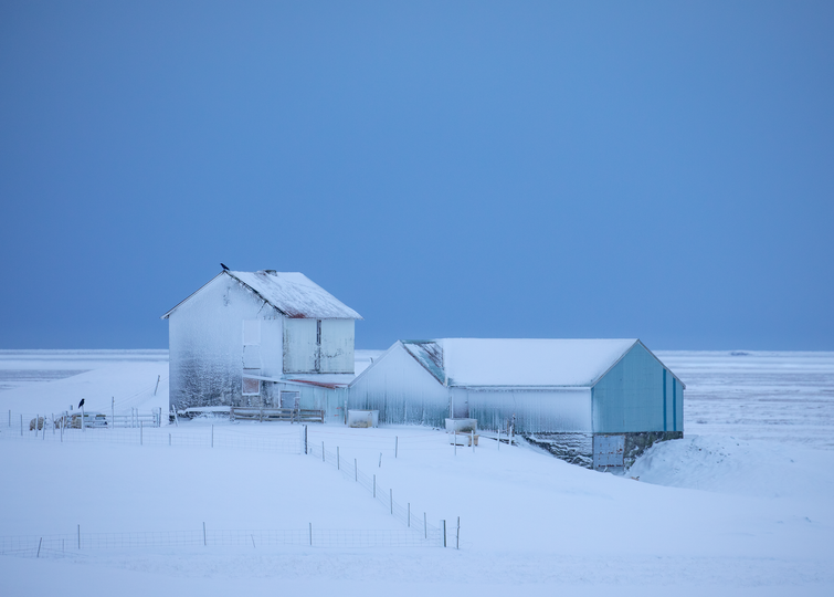 Winter in South Iceland, Abandoned Farm