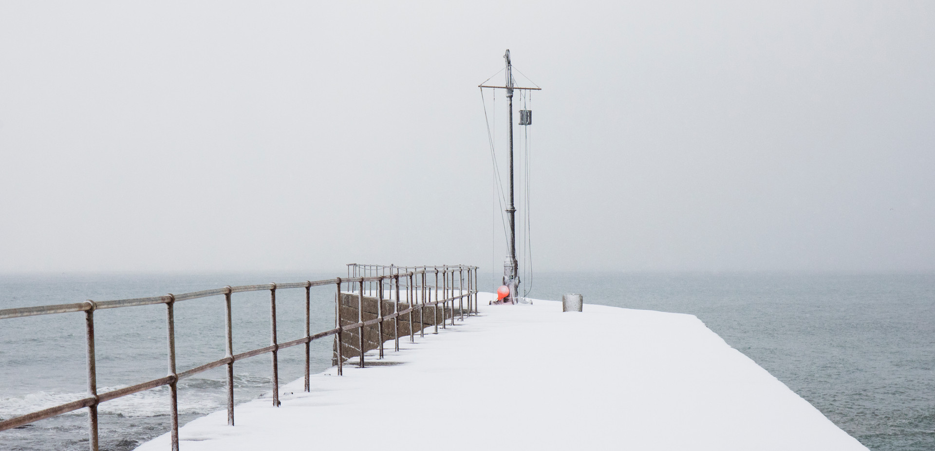 A White Pier, Porthleven