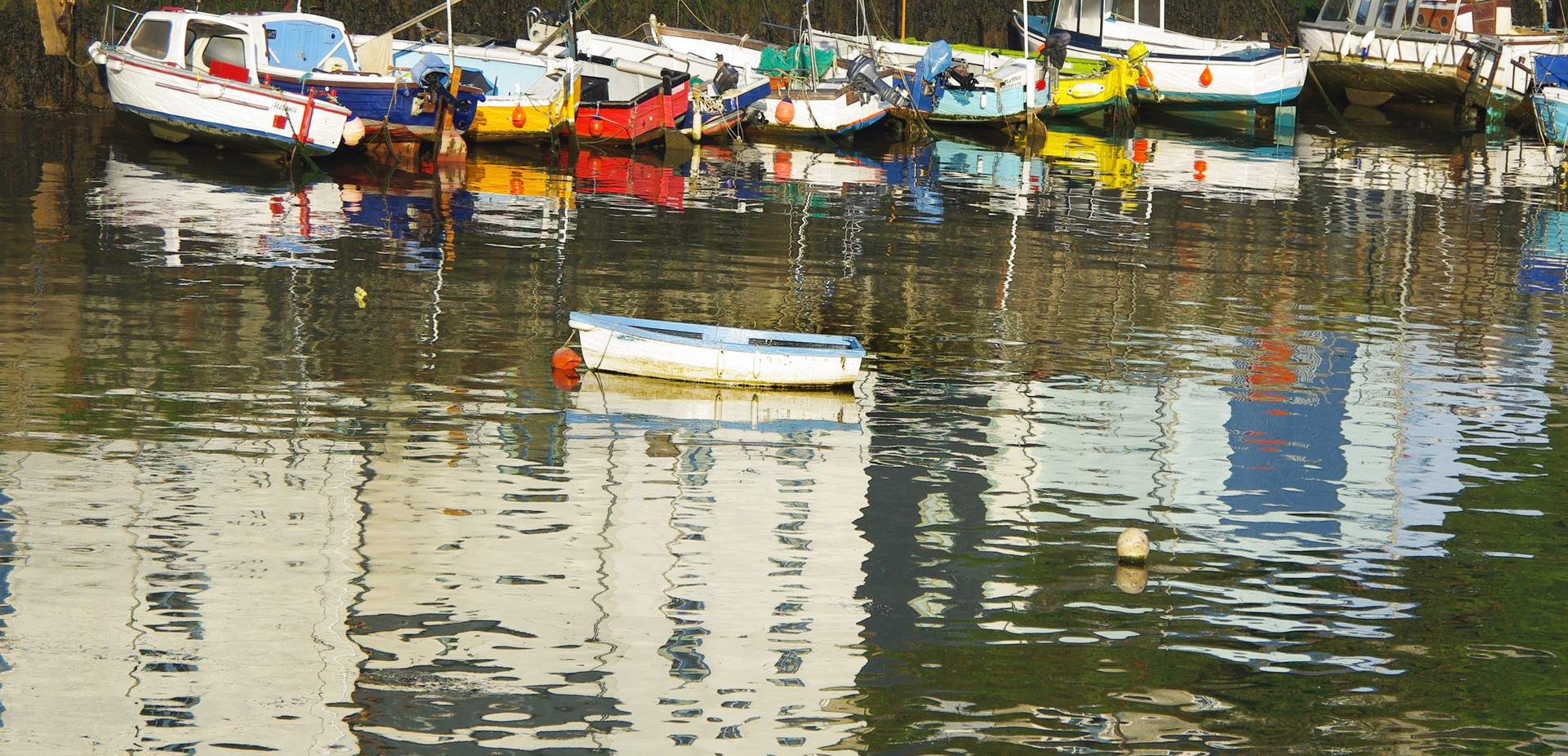Harbours Reflection, Porthleven