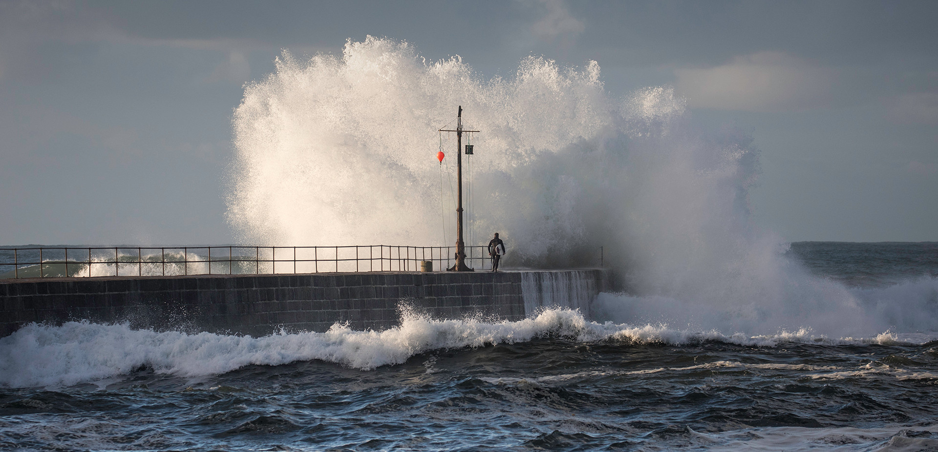 The Surfer & The Wave, Porthleven