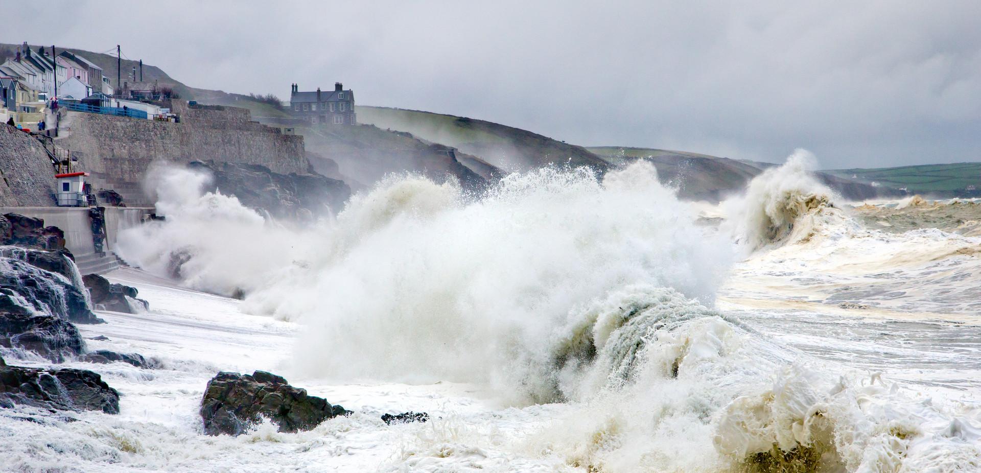 Stormy Seas, Porthleven