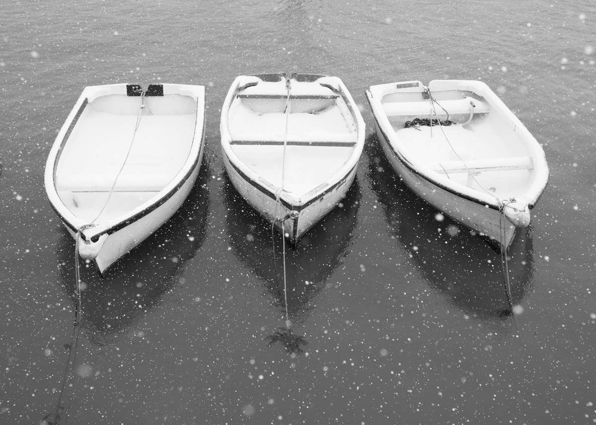 Snow Boats, Porthleven