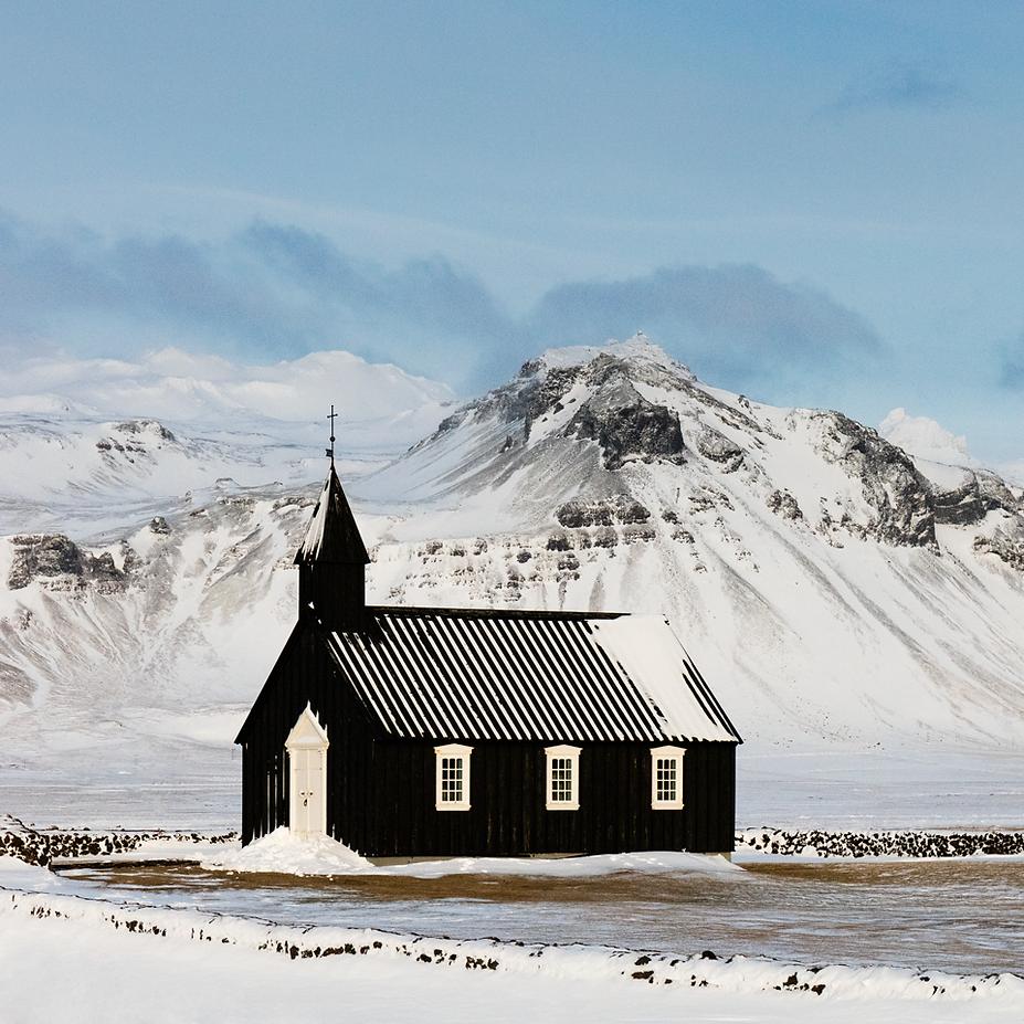 Winter Church, Iceland