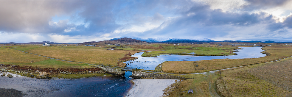Howmore View, Isle of South Uist