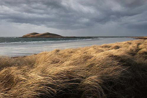 Island Storm, Outer Hebrides Landscape Print