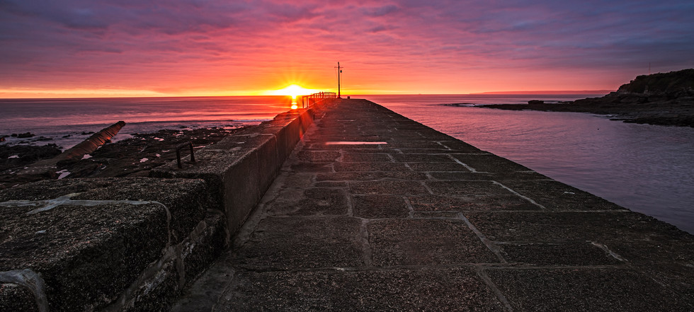 Watching the Sunset, Porthleven