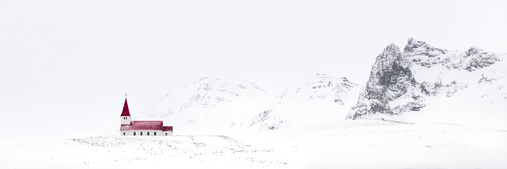 Whiteout, South Iceland