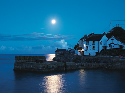 Moonlight Porthleven Print