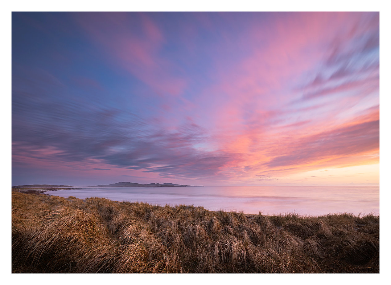 Uist Glow, Sunset on the Isle of South Uist