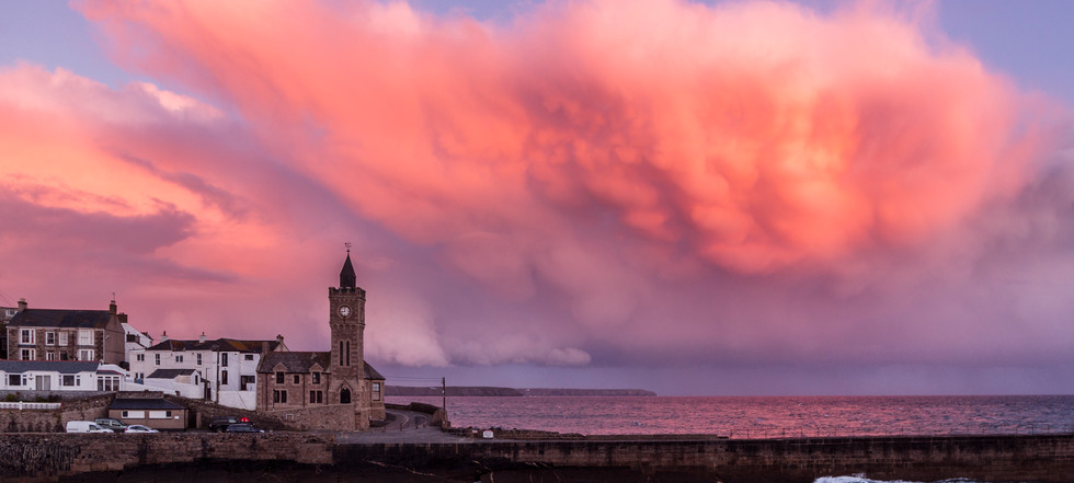 A Pink Cloud, Porthleven