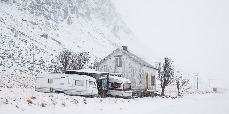 Abandoned In Winter