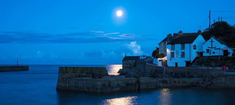 Moonlight, Porthleven