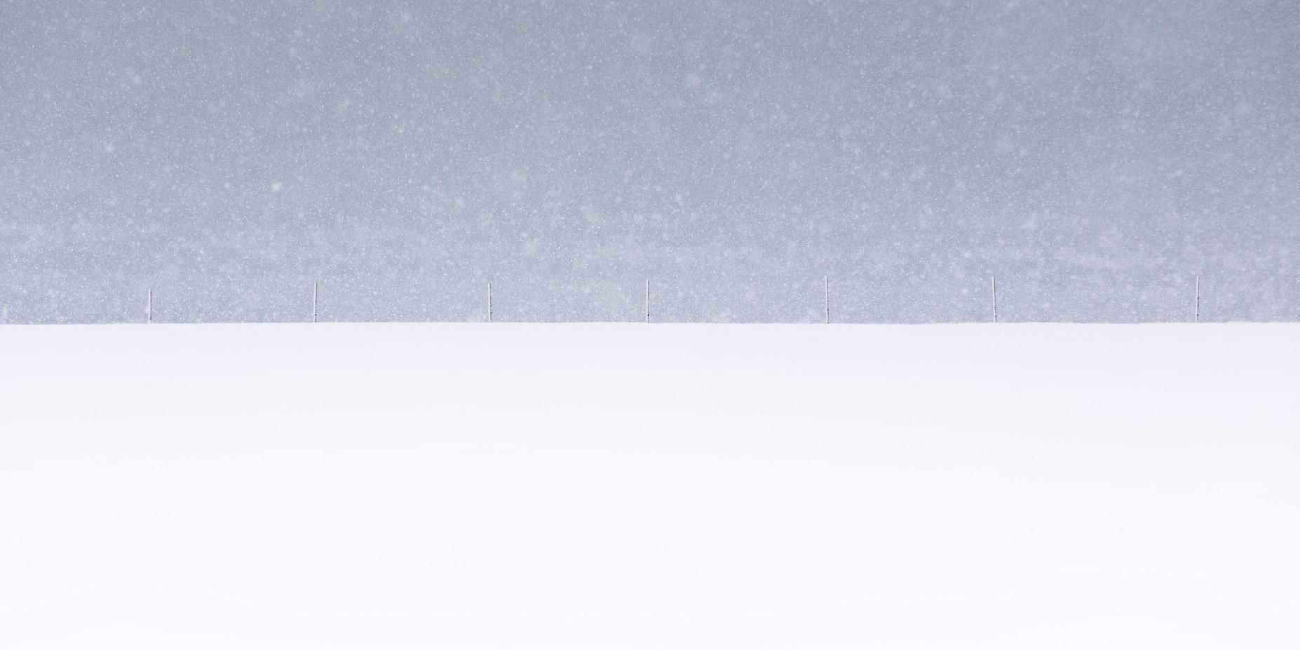 Snow Posts, Lofoten