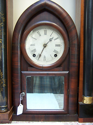 E.N. WELCH BEEHIVE MANTLE CLOCK