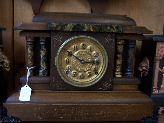 WELCH E.N. MANTLE CLOCK