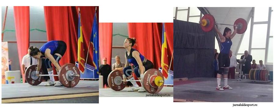 """Maria Luana Grigoriu, adolescenta care mută... """"halterele din loc"""" pentru a urca pe prima"""