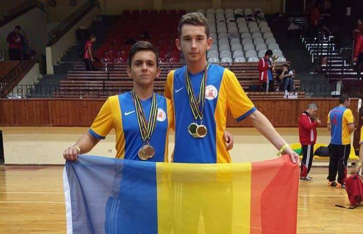 Varó Norbert, cvadruplu campion mondial şi european la fotbal-tenis. Tânărul din Târgu Mureș pentru