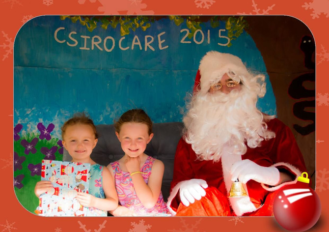 Photos with Santa at CSIROcare