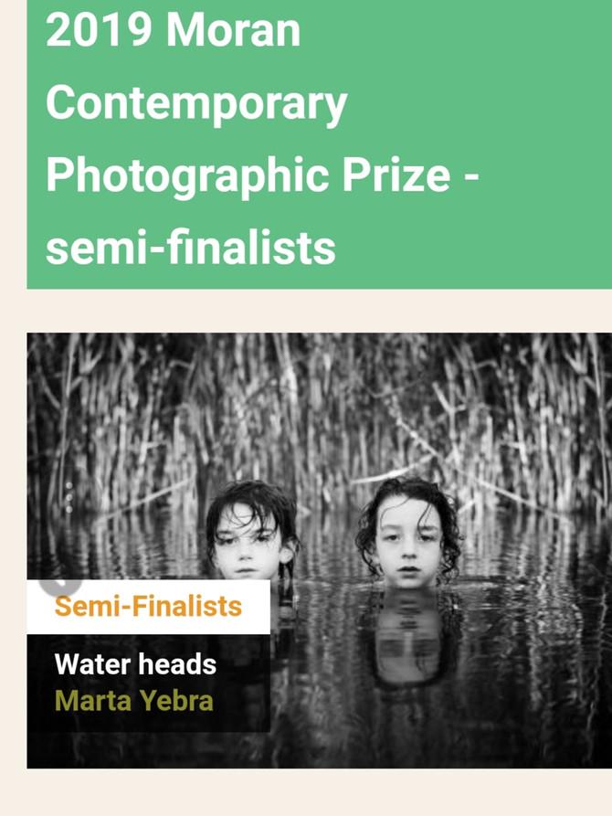 2019 Moran Contemporary Photographic Prize - semi-finalist!