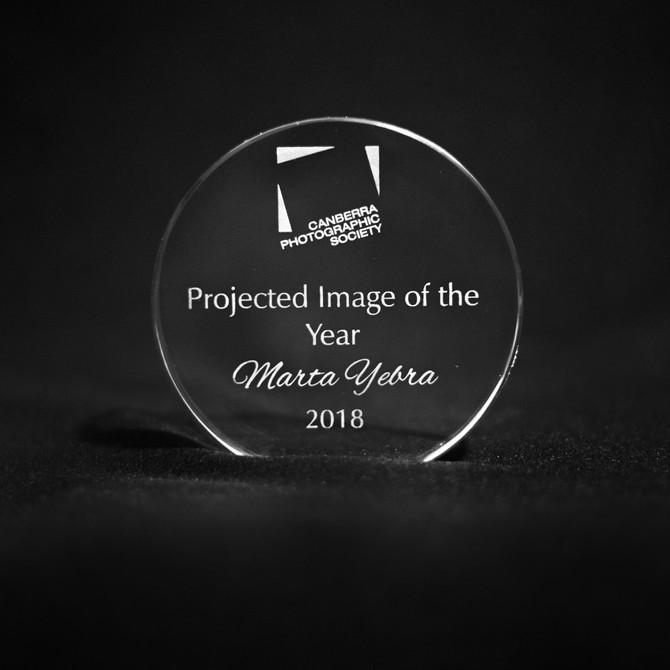 Winner of the Projected Image of the Year 2018