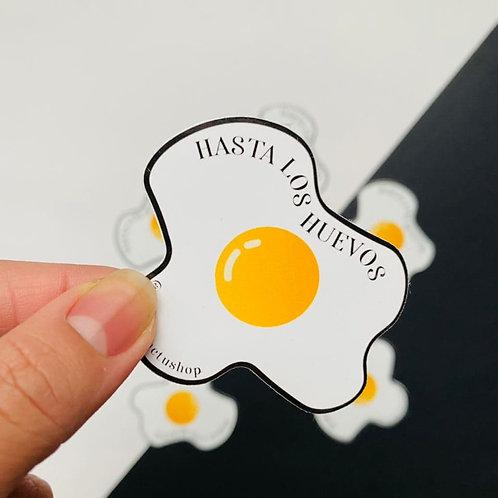 Hasta los Huevos - Sticker