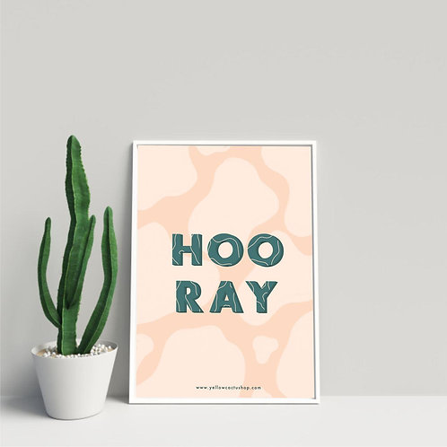 Hooray! - Print