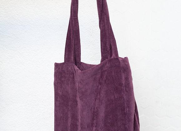 Tote Bag - Purple Pana