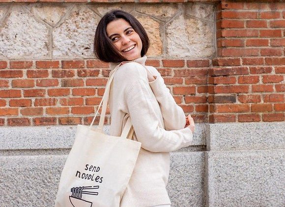 Send Noodles | Tote Bag