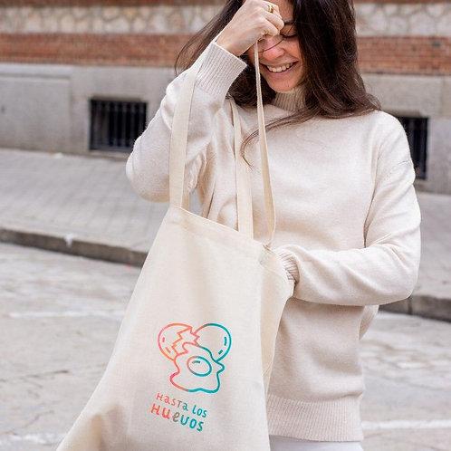 """""""Hasta los huevos"""" Multicolor   Tote Bag"""