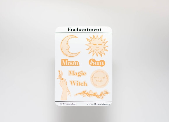 Pack Enchantment - x9 Stickers