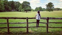 Girl standing on Fence.jpg