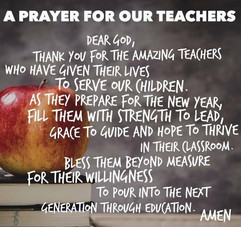 Grateful for my teachers. God bless the teachers in these challenging times.