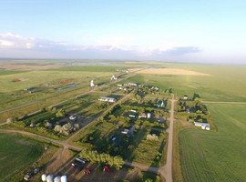 Grateful for my home town and church: Bromhead, Sk.