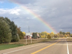 Grateful for the promise in the rainbow