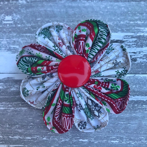 Christmas Candy Flower