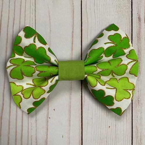 Shades of Green Shamrocks Bows & Ties