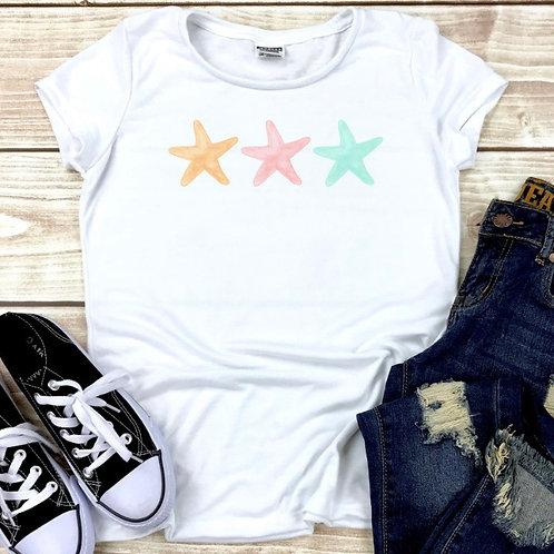 Pastel Starfish