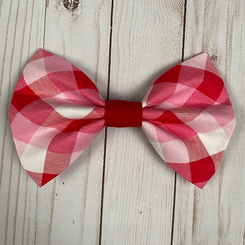 Plaidly in Love Bows & Ties