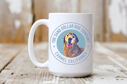The Sand Dollar Dog Company Mug