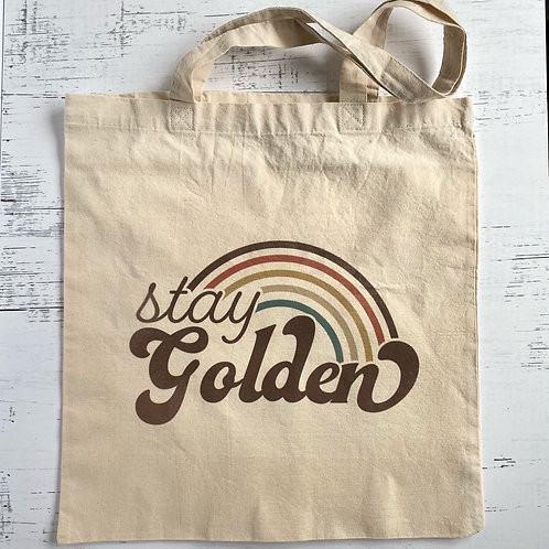 Stay Golden Tote