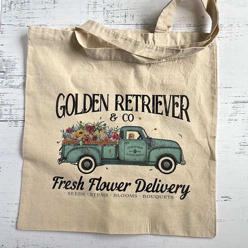 Fresh Flower Delivery Tote