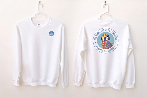 Sand Dollar Dog Company Women's Crewneck Sweatshirt