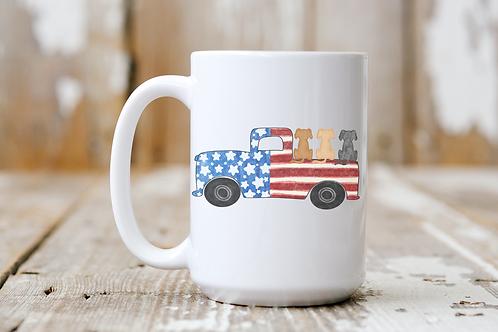 Patriotic Pals Mug